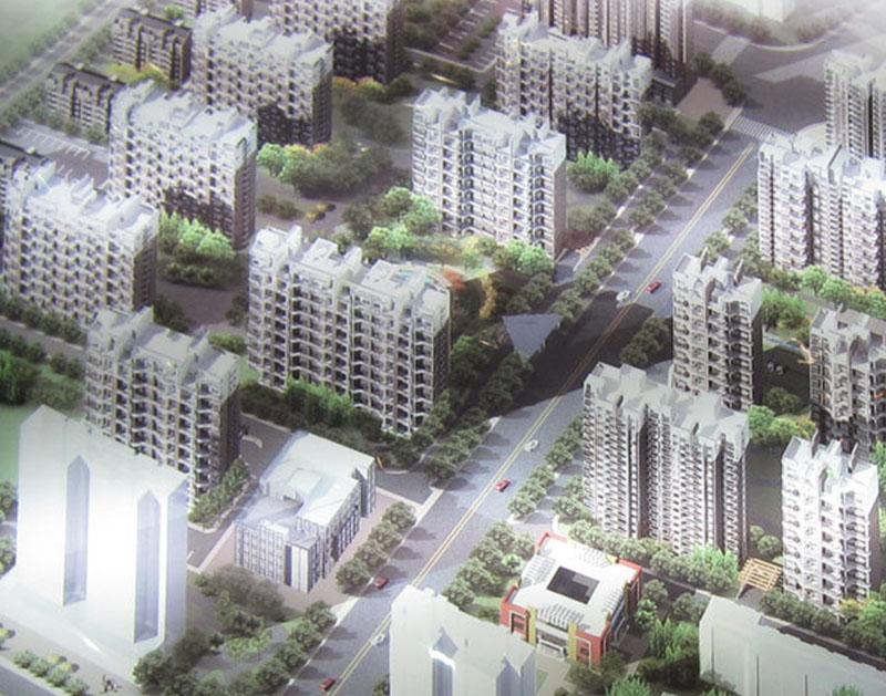 现代逸诚三期10KV配电项目居配室电气安装工程